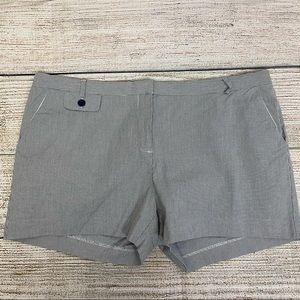 Old Navy Blue/White Striped Shorts, Sz 16